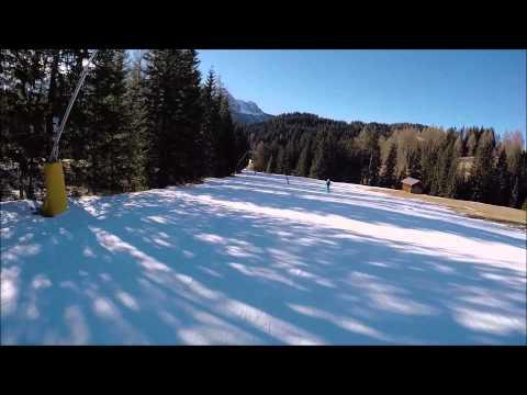 Piste da sci Carezza: pista rossa Tschein