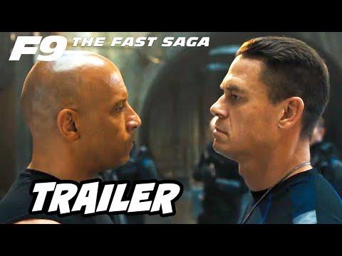 Fast and Furious 9 Trailer - Vin Diesel vs John Cena Breakdown and Easter Eggs
