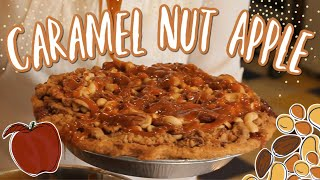 Caramel-Nut Apple Pie How-To