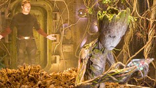 GUARDIANS OF THE GALAXY 2 'Teen Groot' Extended Scene (2017)