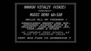 Music Demo 48/128 - Vinie  [#zx spectrum AY Music Demo]
