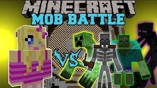 girlfriend-vs-mutant-creatures-mod-minecraft-mob-battles-mods