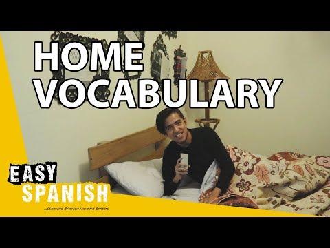 Tiếng Tây Ban Nha bài 12: Trong nhà tôi