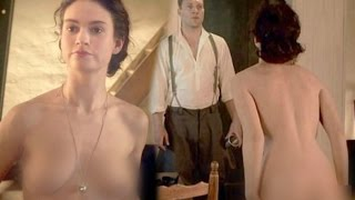 Lily James Nakked Scene In Movie The Exception