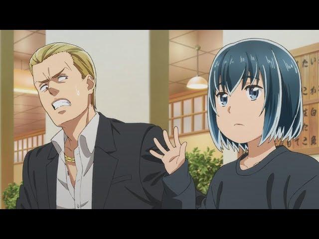 TVアニメ「ヒナまつり」エンディング・テーマ「鮭とイクラと893と娘」CMスポット