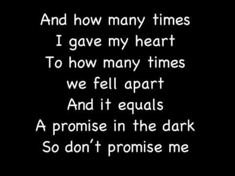 Keri Hilson - Promise In The Dark Lyrics