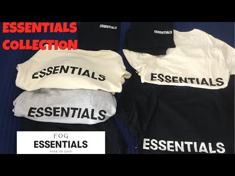 Fog Fear Of God Essentials Entire Collection Review Pricing Sizing Quality Etc Youtube