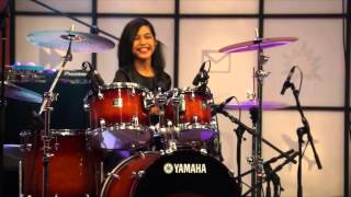 Metallica Enter Sandman Live Drum Cover by Nur Amira Syahira
