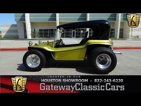 1962 Volkswagen Dune Buggy Gateway Classic Cars #652 Houston Showroom