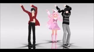 [MMD] Follow the leader   Try to watch without laughing at Zane