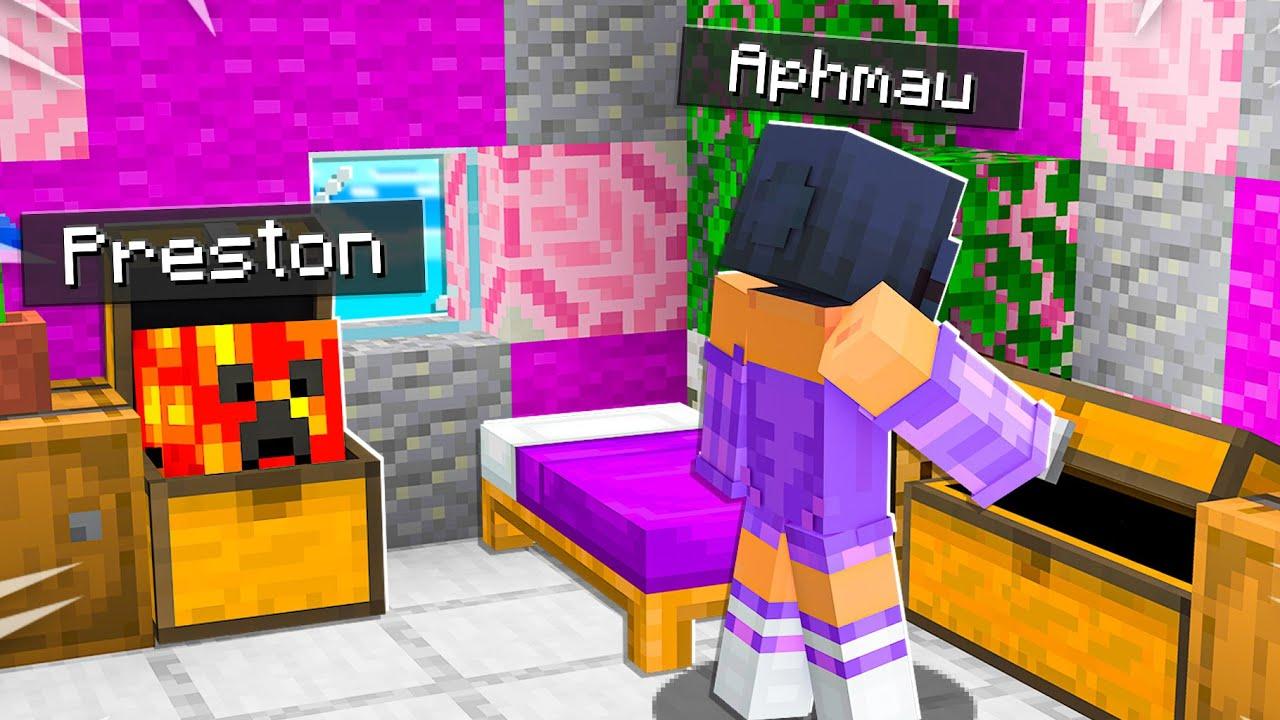I Secretly Moved Into Aphmau's Minecraft House...