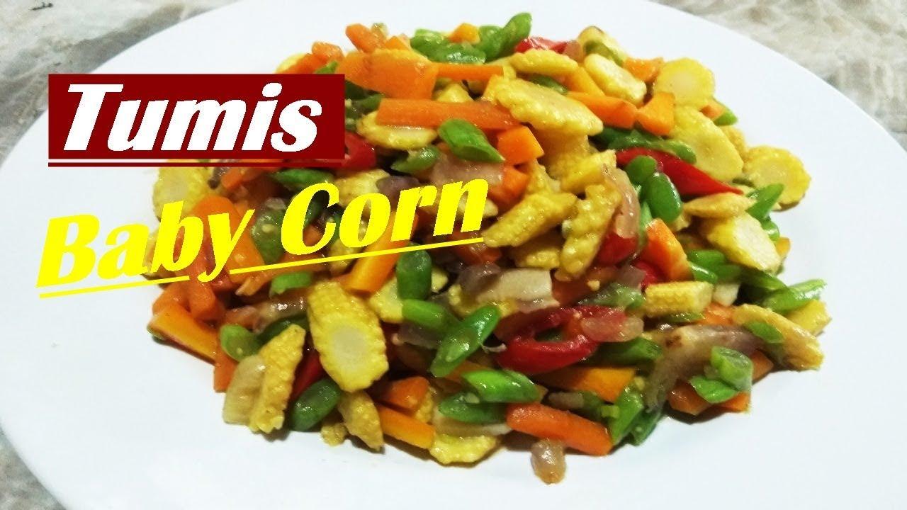 Resep Memasak Tumis Baby Corn Dan Wortel Youtube