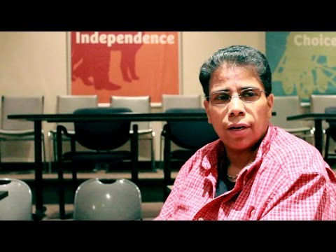 Theresa's Story: Independence Through Employment