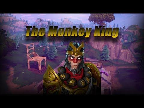 The Monkey King Fortnite Battle Royale