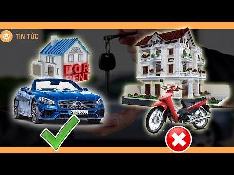 Thà ở nhà thuê đi ôtô còn hơn mua nhà nhưng đi xe máy