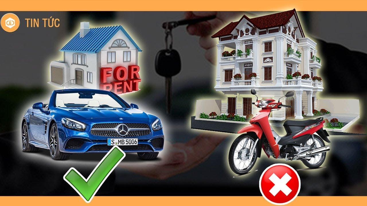 Thà ở nhà thuê đi ôtô còn hơn mua nhà nhưng đi xe máy - YouTube