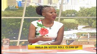 #EbruNewDay IEBC Commissioner Roslyn Akombe talks IEBC independence and credibility
