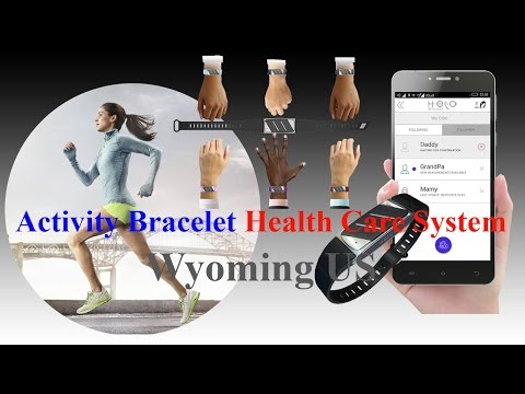 Activity Bracelet Health Care System Wyoming US