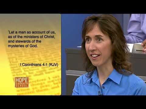 Hope Sabbath School: Lesson 10 - The Role of Stewardship (1st. Qtr. 2018)