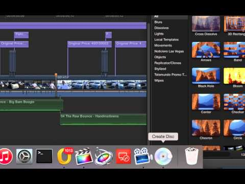 FCPX Burning DVD and BluRay