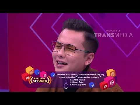 REPUBLIK SOSMED - Andika Ternyata Dulunya Nikung Ussy (20/1/18) Part 1
