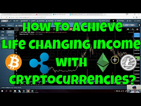 Achieving Life Changing Income with Crypto