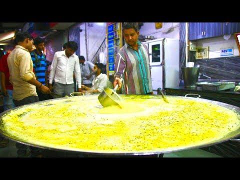 Gigantic INDORE Street Food tour in India | Best Indian Street Food in Indore | Flying dahi vada!