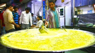 Gigantic INDORE Street Food tour in India | Best Indian Street Food in Indore | Flying dahi vada!
