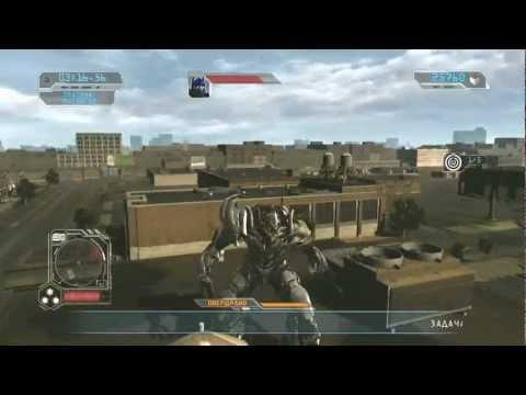 Геймплей уровня Ч.2 (Transformers.Revenge Of The Fallen / Месть падших)