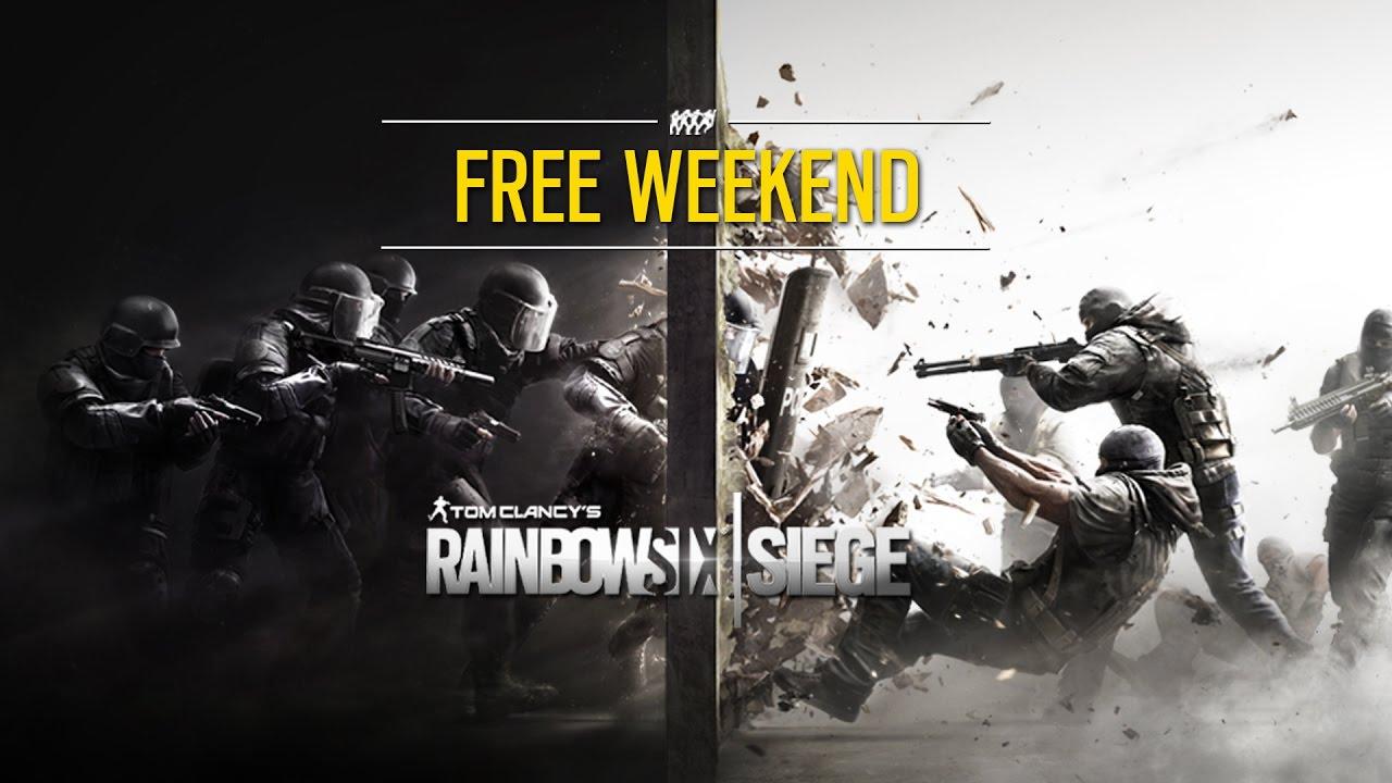 Картинки по запросу rainbow six siege бесплатные выходные