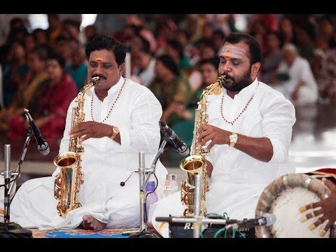 Tamil Nadu Devotees Parthi Yatra, Day 2 || M Jayakumar Saxophone Concert - 13 Apr 2016