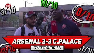 Arsenal 2-3 Crystal Palace | Opportunity Missed (BIG TIME!) Player Ratings ft Troopz