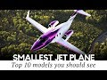 Top 10 Private Mini Jets and Light Airplanes for Beginner Millionaires