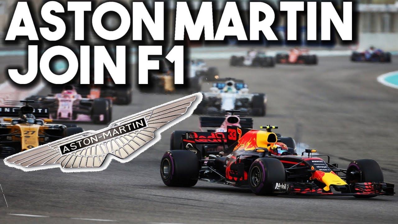 aston martin join f1! (f1 2018 news) - youtube