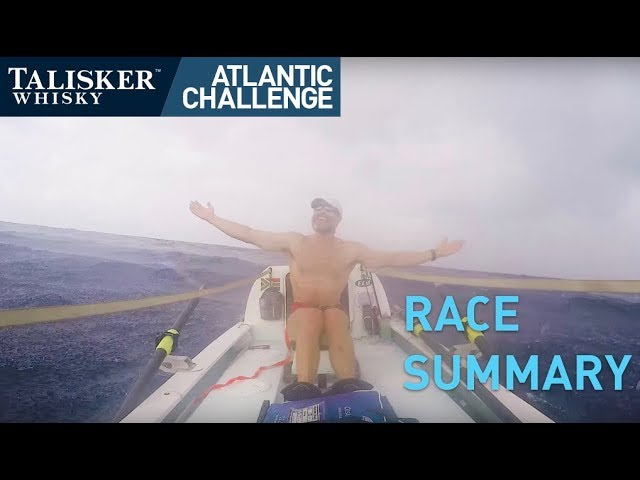 Talisker Whisky Atlantic Challenge  - Race Summary