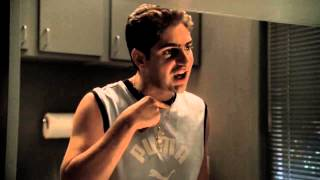 The Sopranos - Chrissy mad about Tony B