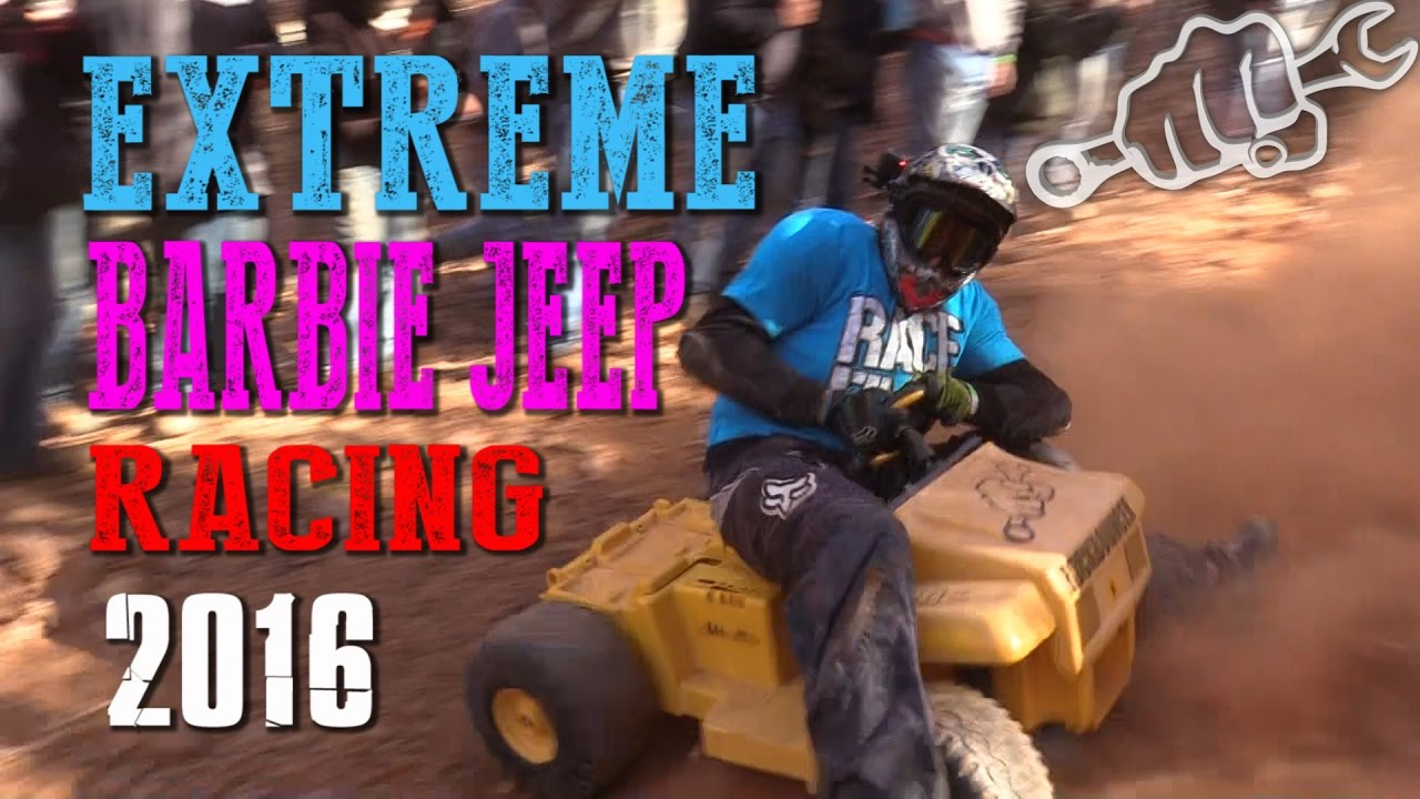 Extreme Barbie Jeep Racing is like racing a ticking time bomb that could explode at any time. This time we take you to RBD for the Extreme Barbie Jeep Racing...