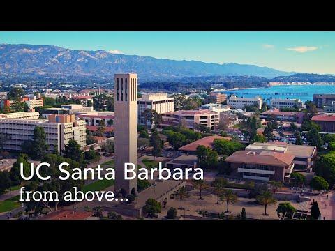 UC Santa Barbara From Above