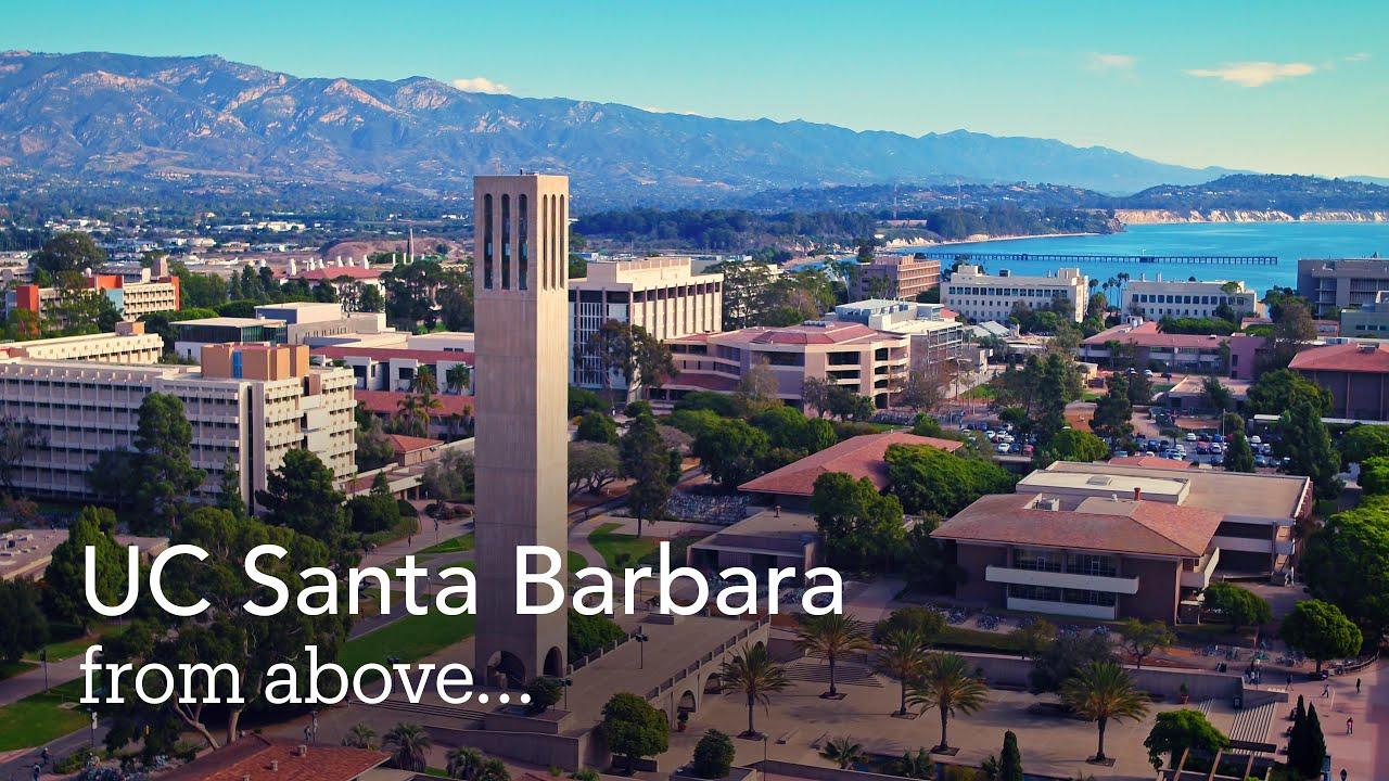 UC Santa Barbara from above - YouTube
