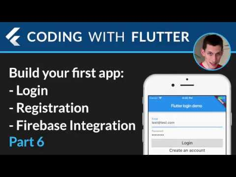 Flutter & Firebase Auth 06 - Home page + Sign out + Complete and review sign in flow
