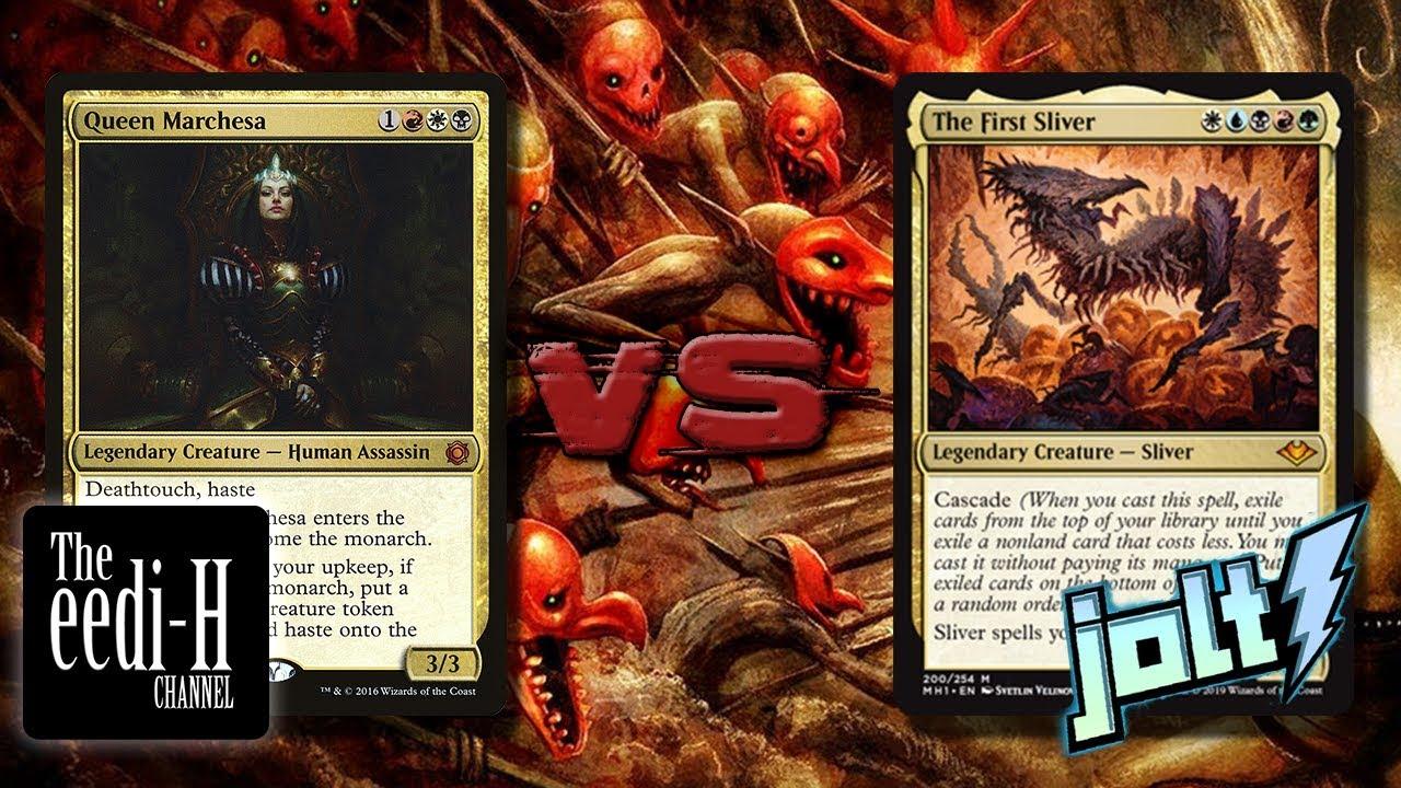 Queen Marchesa vs The First Sliver - Commander/EDH - tribalkai/jolt539 - 1v1