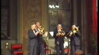J. Strauss - Tritsch Tratsch Polka - Berliner Posaunenquartett
