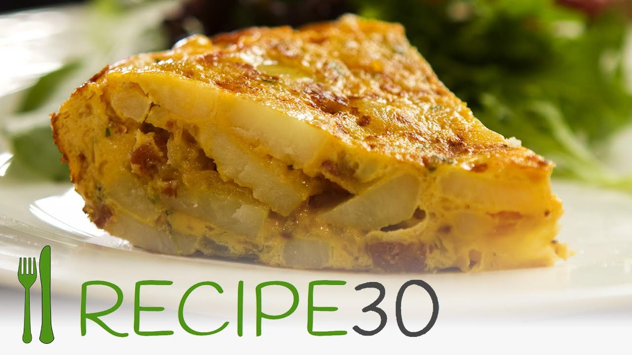 Watch Spanish Tortilla with Chorizo and Peppers video