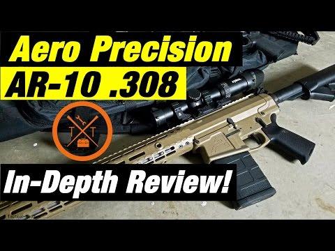 Aero Precision M5 AR10 Review!! #PEWTUBER