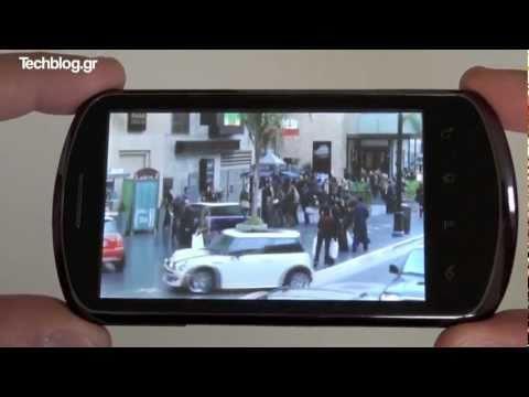 Huawei Ideos X5 hands-on (Greek)