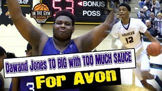 BIG Fella Dawand Jones and Ben Davis Giants Just To Much Sauce for Jayden Brewer and  Avon Orioles