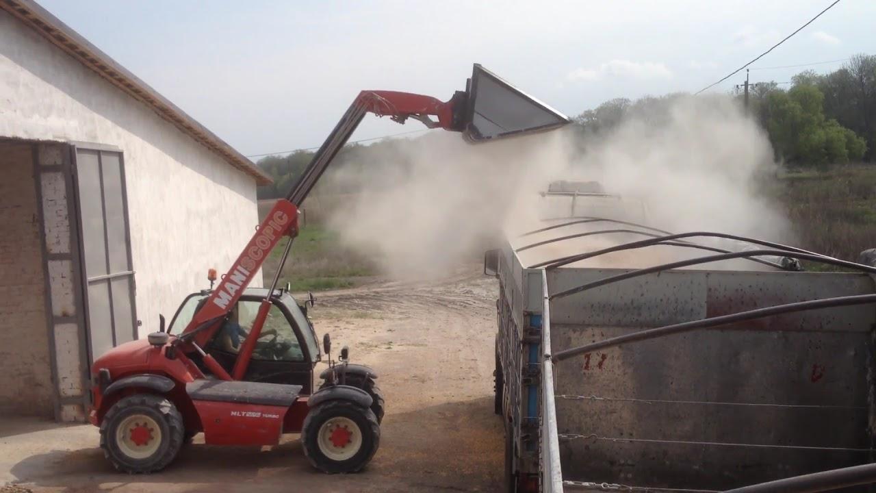 Зерновоз транспортной компании