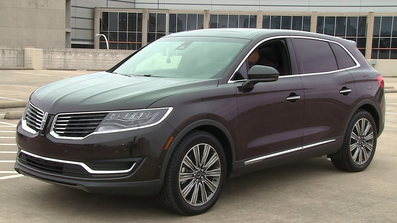 tech review 2016 lincoln mkx black label youtube. Black Bedroom Furniture Sets. Home Design Ideas