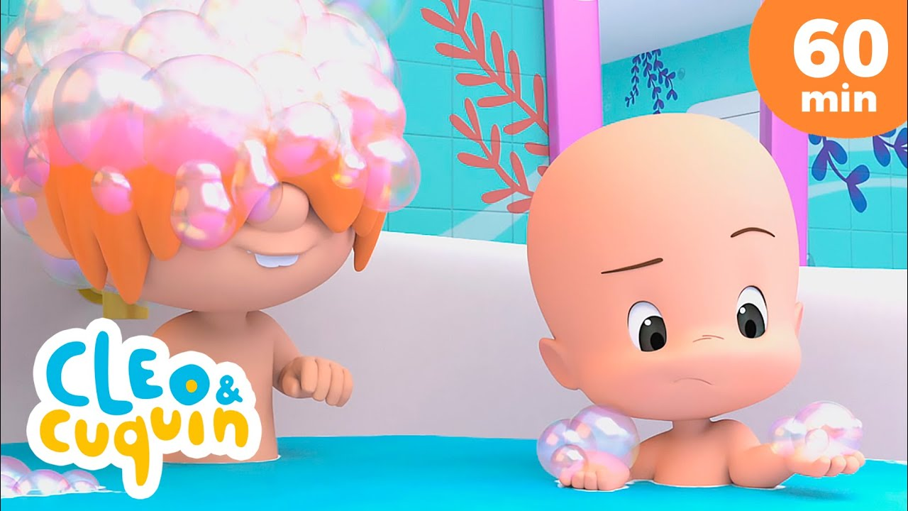 Bath Song With Cuquin and more Nursery Rhymes by Cleo and Cuquin | Children Songs