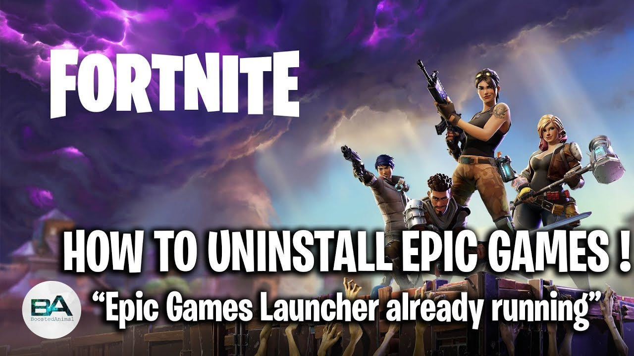 How to uninstall Epic Games ! | Epic Games Launcher ...